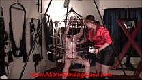 Sex and Metal Cage - Ride the Lightning - Chastity CBT Cattle Prod Electricity - Download mp4 XXX porn videos