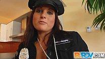 Pure Pov Kara cop cutie is arresting when she g...