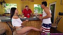 scene fucking anal outdoor hendrix holly Latina