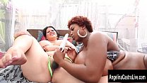 Oiled Up Juggs with Angelina Castro