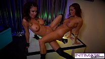 Intimate lesbians - Jessica Jaymes and Abigail mac strip a fuck for you - download porn videos