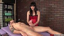 masseusex dominant Brunette