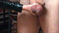 Ballbusting: Mistress Natasha Poole destroys th... thumb