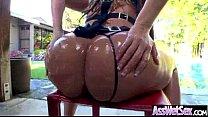 (alena croft) Girl With Big Round Ass Enjoy Ana...