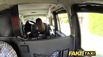Fake Taxi big facial cum shot for brunette in stockings porn videos