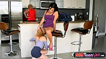friend milf moms her by fingered and licked gets Teen