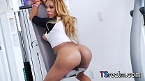 black tgirl jenna belle gets herself off