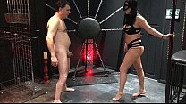 ballbusting mistress arabella destroys the testicles of andrea dipre