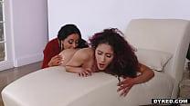Beautiful Lesbians Liv Revamped and Simone Garza