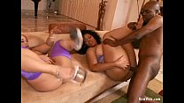Big Ass Sluts In Hot Interracial Threeway