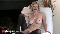 Chunky MILF With A Big Ass Bangs Her Hubby Dogg...