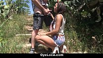 OyeLoca - Gala Brown Gets Fucked Outdoors