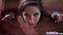 (Abella Danger) Superb Oiled Girl With Round Bi... thumb