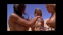 Hot Naked Chicks Sand Boarding!