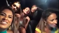 loiras safadas no carro indo pra balada cantando MC Smith Apaixonado porn videos