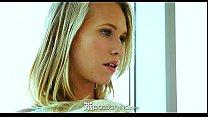 passion hd   hot blonde teen dakota james sits on her man s dick
