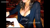 vibrator remote with playing restaurant in Girl