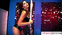 The Stripper Experience - Ariana Marie strip down and suck a huge cock porn videos