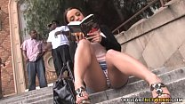 Anal Slut Liza Del Sierra Picked Up By Black Guys
