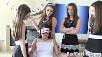 New College Student Bullied by her Freaky Friends