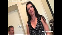 French MILF bitch Cristale make a casting to ha... thumb