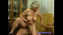 guy young with fuck Granny
