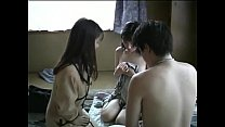 Japanese family threesome (uncensored)