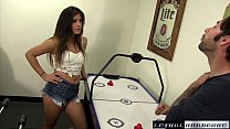 natalie gets hard fuck from brother in law and a sticky facial