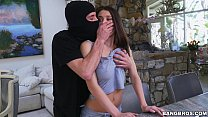 Neglected Lana Rhoades Gets Fucked By An Intruder