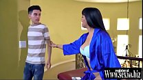 TRAILER- STEPMOM WANT MASSAGE FUCKED HARD BY H...