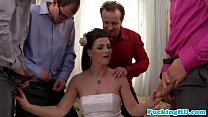 cocks five sucks bride euro loving Bukkake