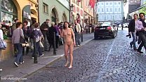 Spectacular Public Nudity With Horny Babes On Streets
