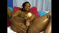 who is she ebony solo squirter....