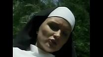 monk a by fucked Nun