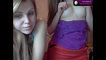 Girls show their tits on cam