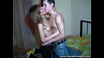 Casual Teen Sex - Girl at the student party