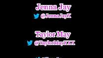 Pornstars Jenna Jay X and  Taylor May XXX at AV...