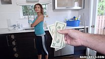 money extra for naked cleans Maid