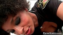 Black slut Lala X rides some fat cock 2 porn videos