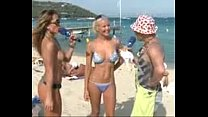 Sabrina Sato Peitos de Fora Na Praia SEM TARJA