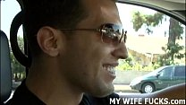 Watch you wife Mia fucking a hung stranger