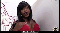 Gloryhole Secrets Ebony sucking off strangers POV 15