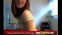 Tbusco: estudiante española zorreando en la webcam