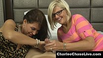 milf nerdy a with cock a shares chase charlee Busty