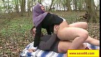 Une maigrichonne bien salope se fait culbuter e...