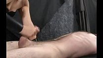 masturbation therapy   penis milking specialist at work