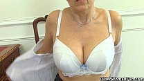 pussy old her fingering is savana granny English