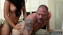 Big tits TS Chanel Santini fucks patient