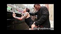 Hobo Cums On Emo Teen in Public! porn videos