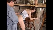 Beautiful Teen Babe Leonie fucks with Janitor